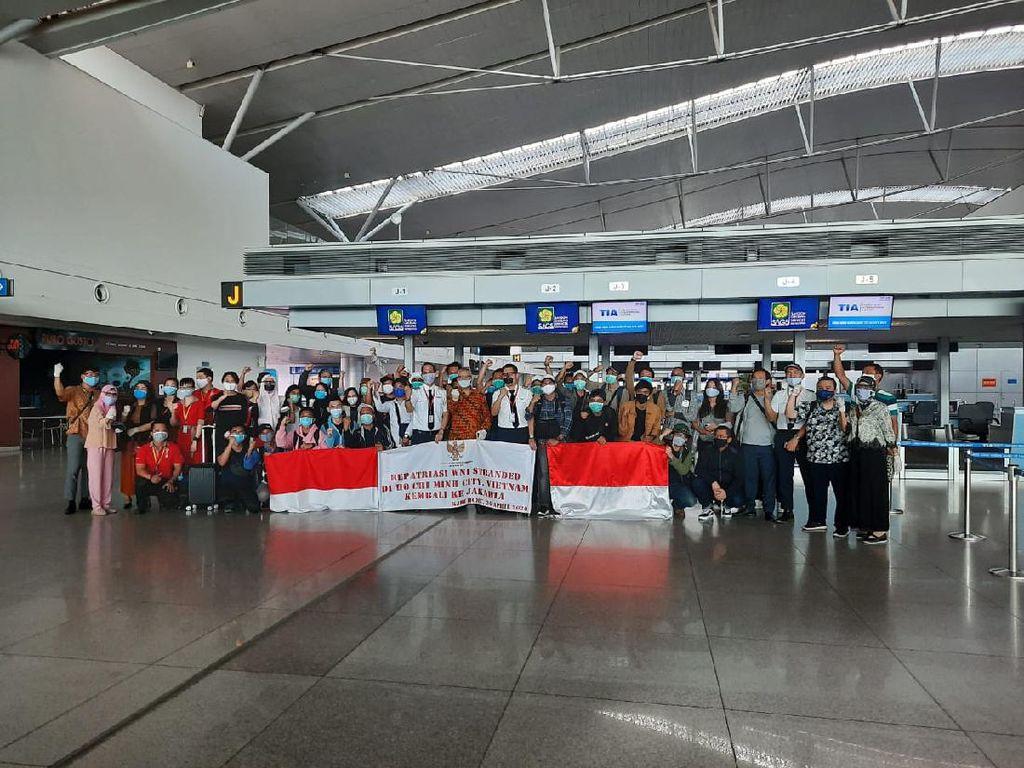 Tertahan Sebulan karena Corona, 37 WNI Akhirnya Dipulangkan dari Vietnam