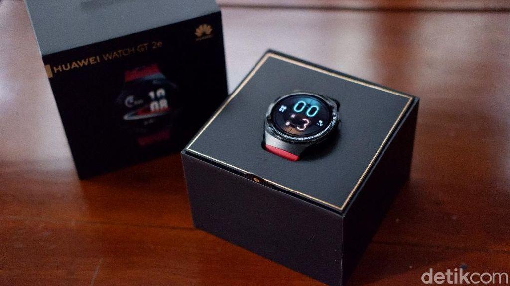 Unboxing Huawei Watch GT 2e, Jam Pintar Sporty Harga Rp 2 Jutaan