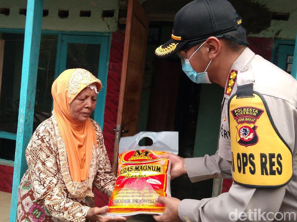 Polresta Cirebon Bantu Warga yang Belum Terima Bantuan Pemerintah