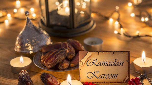 Ilustrasi puasa di bulan Ramadhan