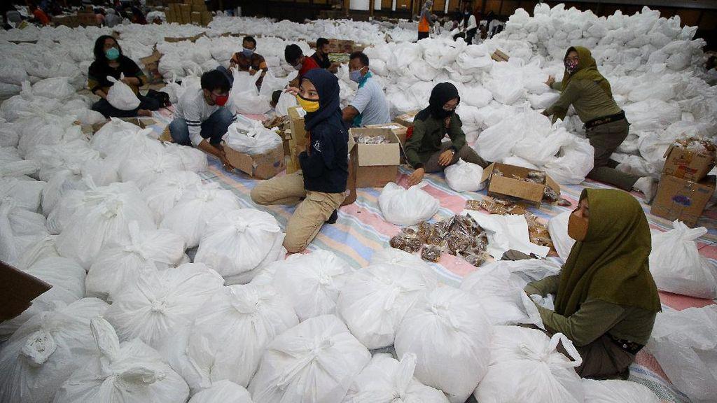 Pemkot Surabaya Siapkan 68.000 Paket Bantuan Sembako