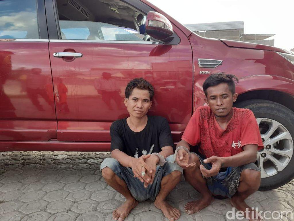 2 Pria di NTB Mau Curi Kambing, Dalam Mobil yang Disewa Ada Bong Sabu