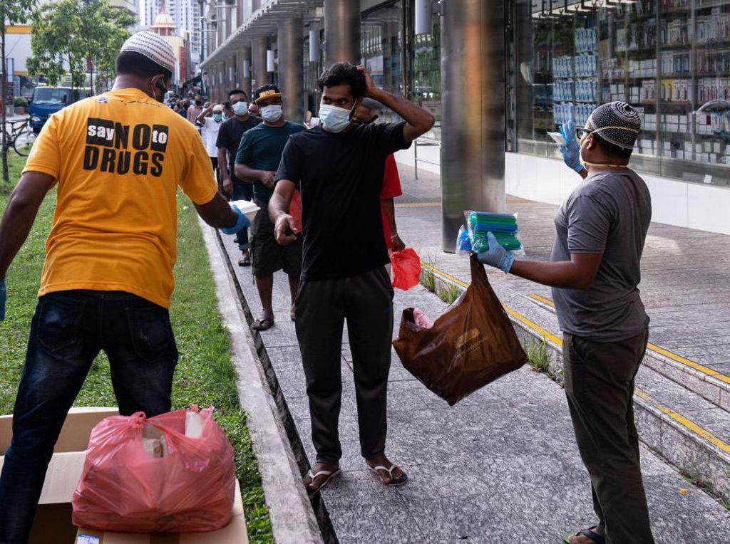 Dari 44.800 Kasus Corona di Singapura, Lebih dari 40 Ribu Telah Sembuh