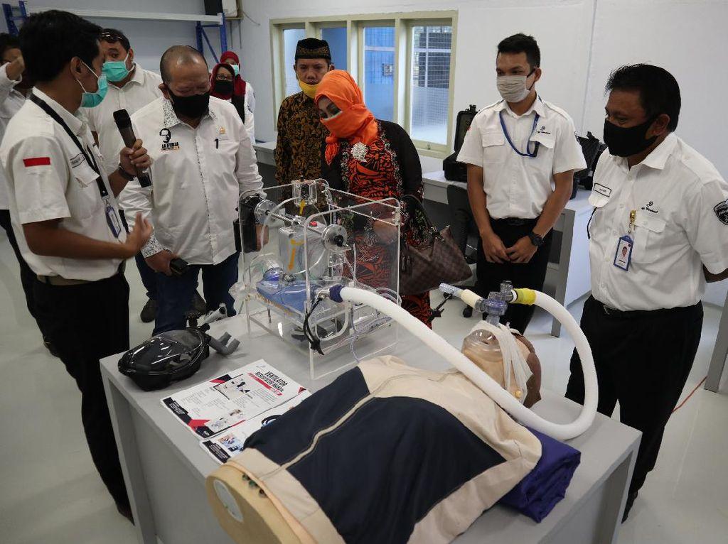Cakep! RI Akhirnya Punya Ventilator Made in Bandung
