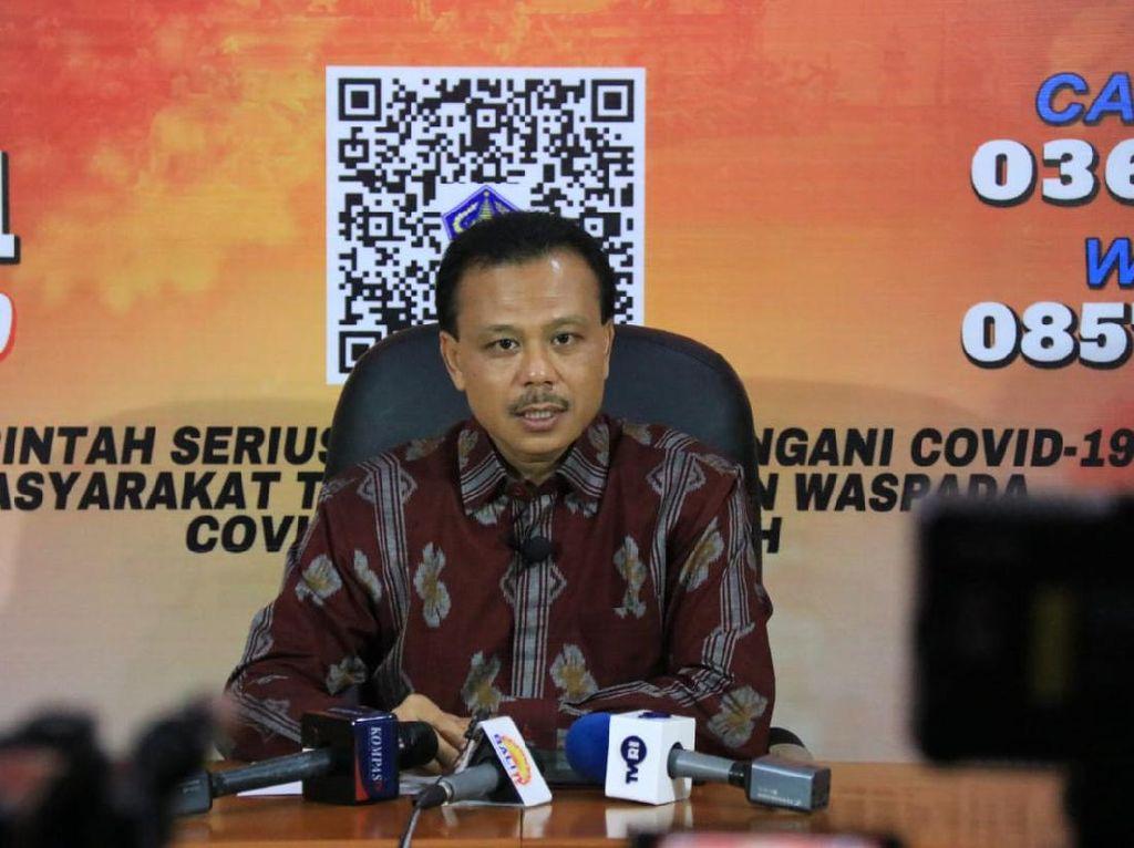 400 Warga Reaktif Corona Saat Rapid Test, 1 Banjar Desa di Bali Diisolasi
