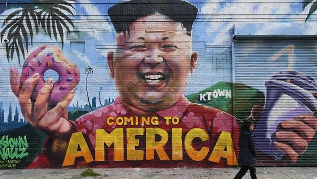 Saat Kim Jong Un Jadi Bahan Humor Politik