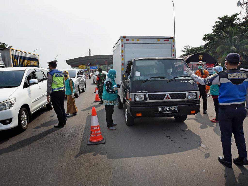 Hari Kelima Larangan Mudik, Total 12 Ribu Lebih Kendaraan Diputar Balik