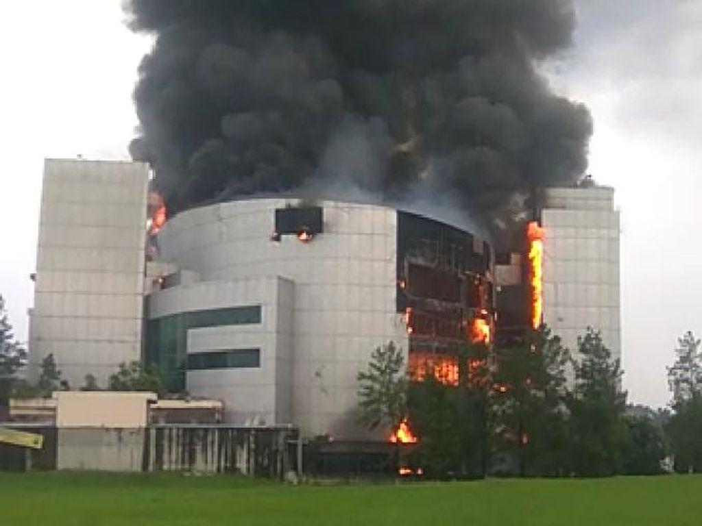 Kondisi Kapolsek yang Terluka Saat Padamkan Api di Gereja Christ Cathedral