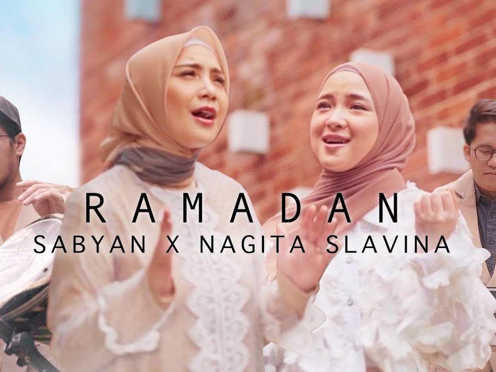 Sabyan dan Nagita Slavina Gambarkan Ramadan dalam Lagu