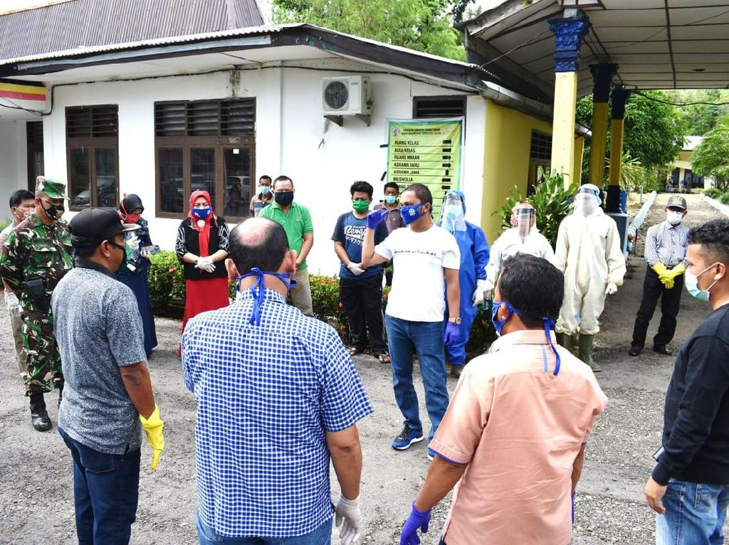 Tetap Mudik ke Tapteng Jelang Idul Fitri, 22 Orang Diisolasi