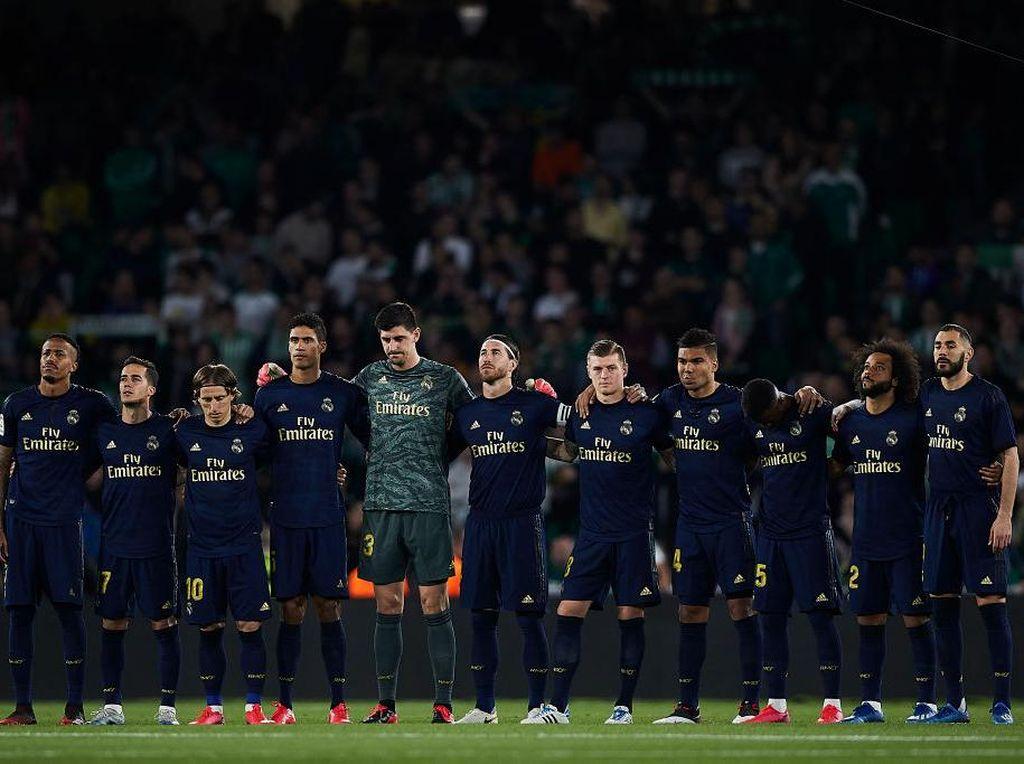 Pemain-pemain Real Madrid Kikuk di Hari Pertama Latihan