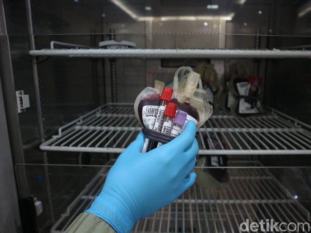 Pandemi Corona, Stok Darah Di PMI Sumedang Tersisa 120 Labu