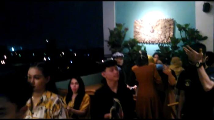 Birthday party selebgram Medan dibubarkan polisi (dok. Istimewa)