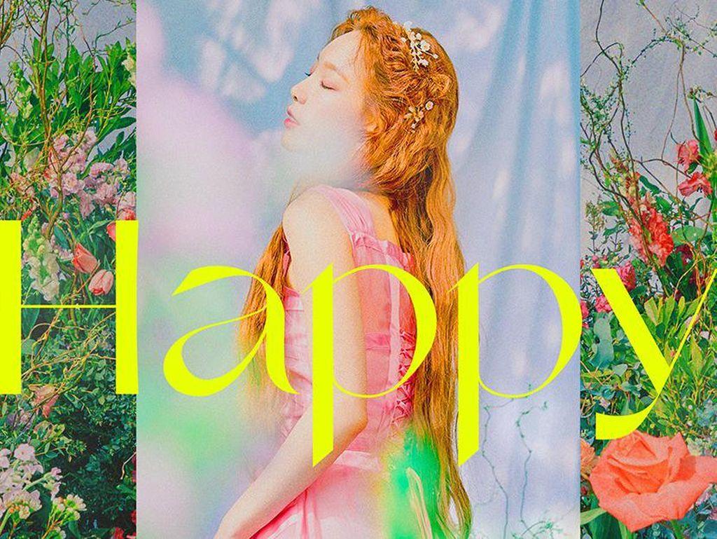 Taeyeon Rilis Single Terbaru Happy 4 Mei