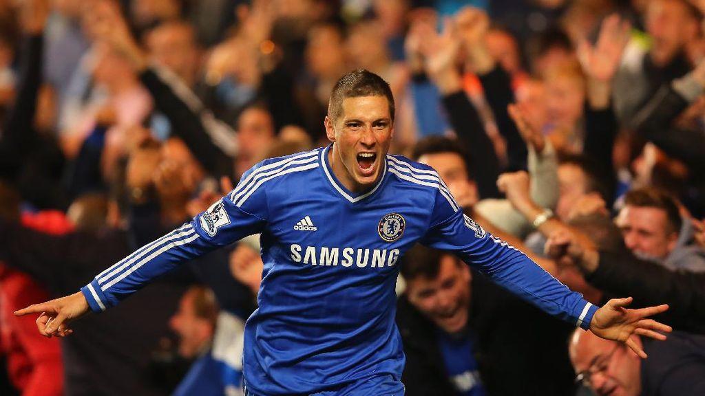 Fernando Torres Masih Jadi Orang Spanyol Nomor Satu di Liga Inggris