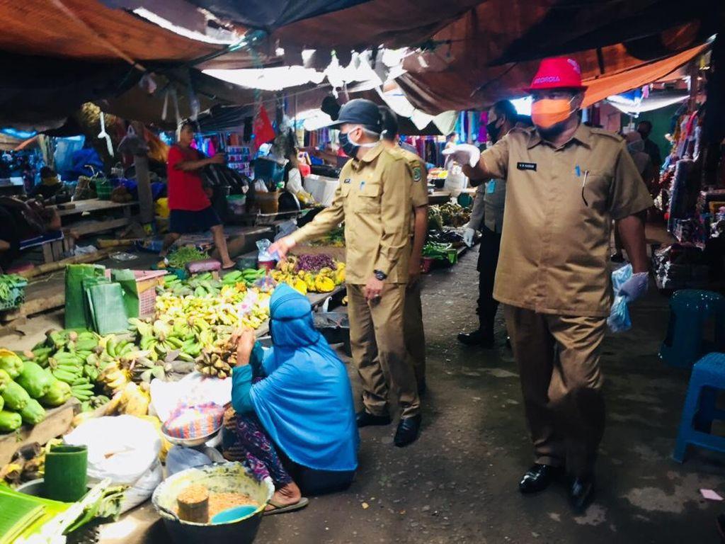 Pemda Luwu Utara Sidak Sembako di Pasar