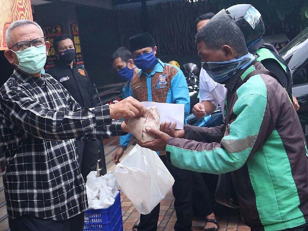 Bantuan Makanan Berbuka Puasa untuk Ojol