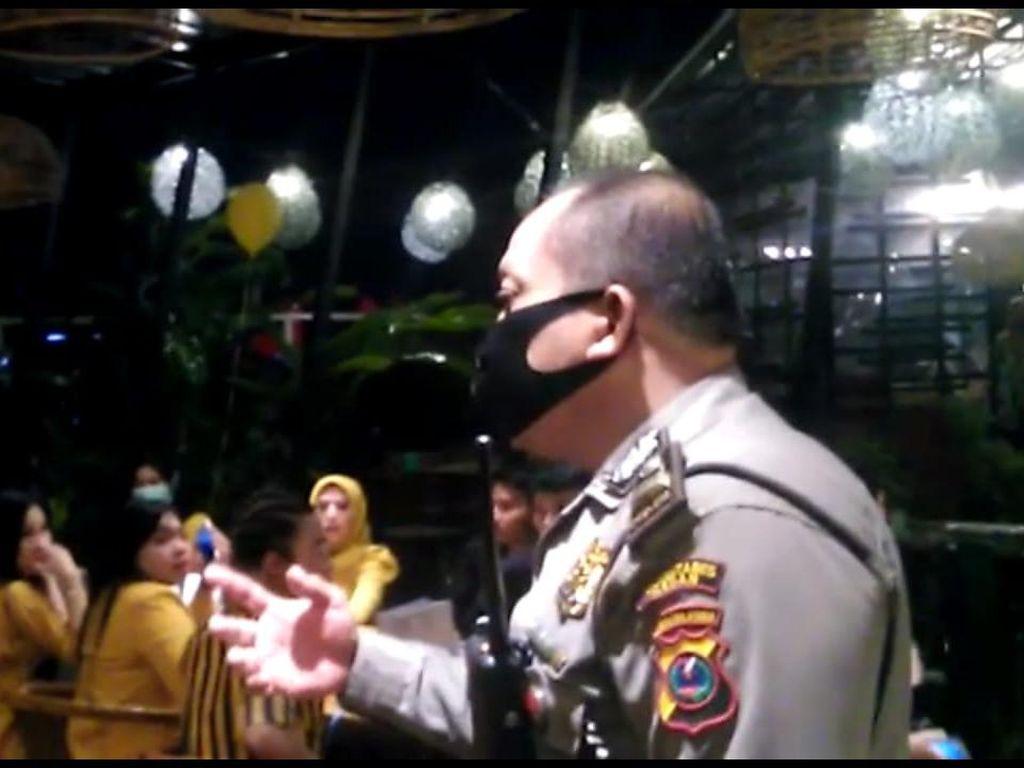 Pesta Ultahnya Dibubarkan Polisi, Selebgram Medan Beri Penjelasan