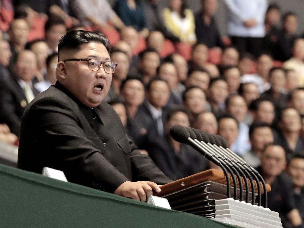 Kim Jong-Un Beri Selamat ke Jokowi untuk HUT RI ke-75