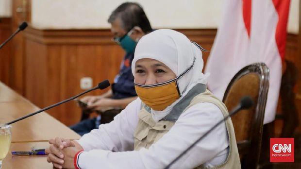 Gubernur Jawa Timur Khofifah Indar Parawansa mengatakan, tambahan 59 pasien positif Corona itu terjadi di sejumlah daerah, sebarannya yakni sebanyak 20 pasien dari Surabaya, 11 dari Sidoarjo, 2 dari Gresik dan 1 pasien dari Lumajang, 1 dari Kota Pasuruan.