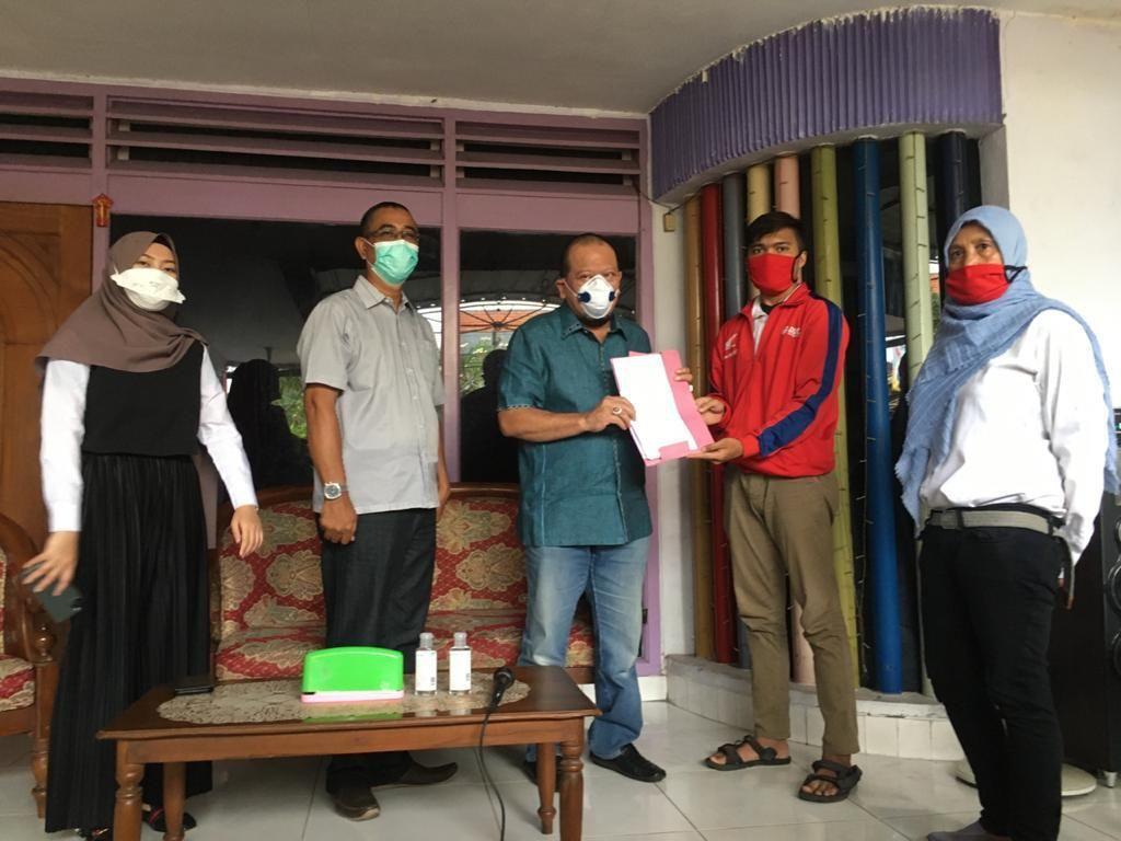 Ke Mojokerto, Ketua DPD Dicurhati Ojol soal Beban Kredit Motor