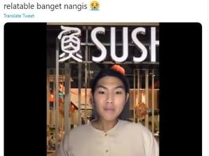 Rindu Makan di Restoran, Netizen Ini Parodikan Karyawan KFC dan Sushi Tei