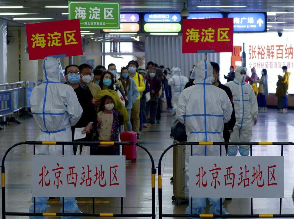 Panas! China Balas Komentar AS Soal Penanganan Pandemi COVID-19