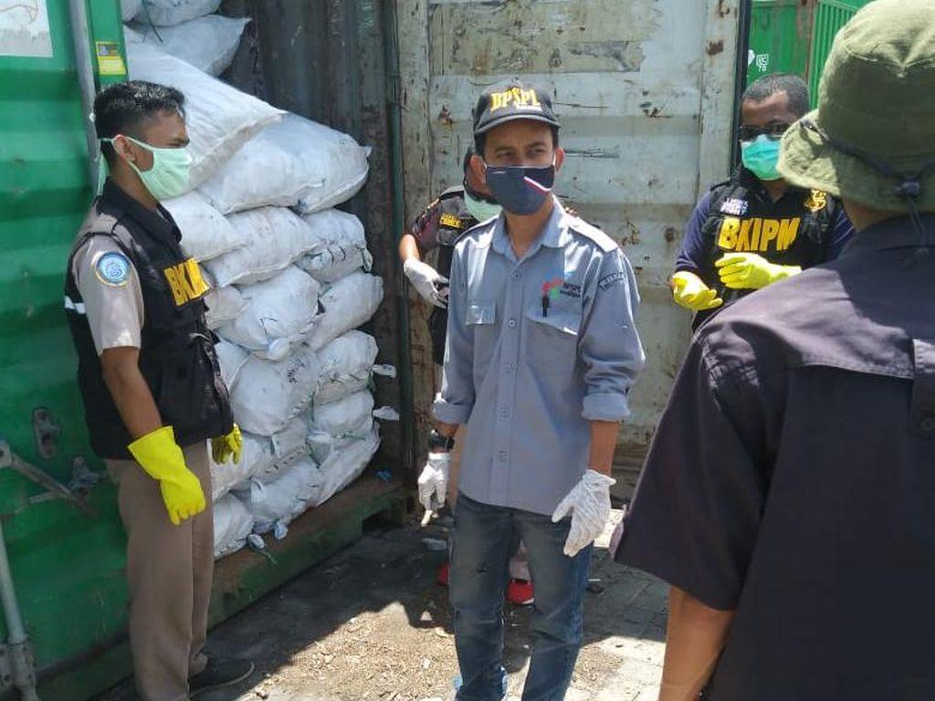 KKP Gagalkan Pengiriman 396 Karung Bambu Laut Ilegal di Sulteng