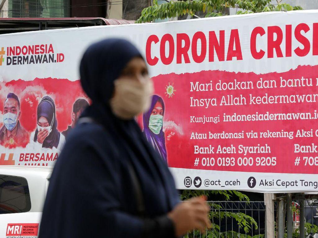10 Wilayah Indonesia dengan Penambahan Kasus Corona Terbanyak 23 Mei