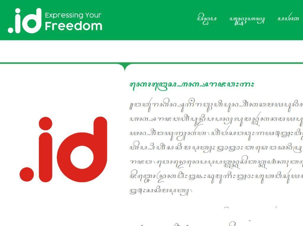Domain Internet Bisa Beraksara Jawa, Tapi...