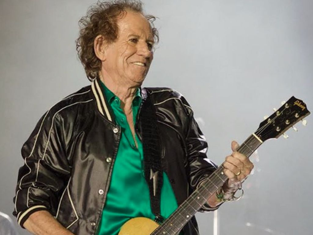 Keith Richards Ngaku Rekam Riff Gitar Lagu The Rolling Stones saat Bercinta