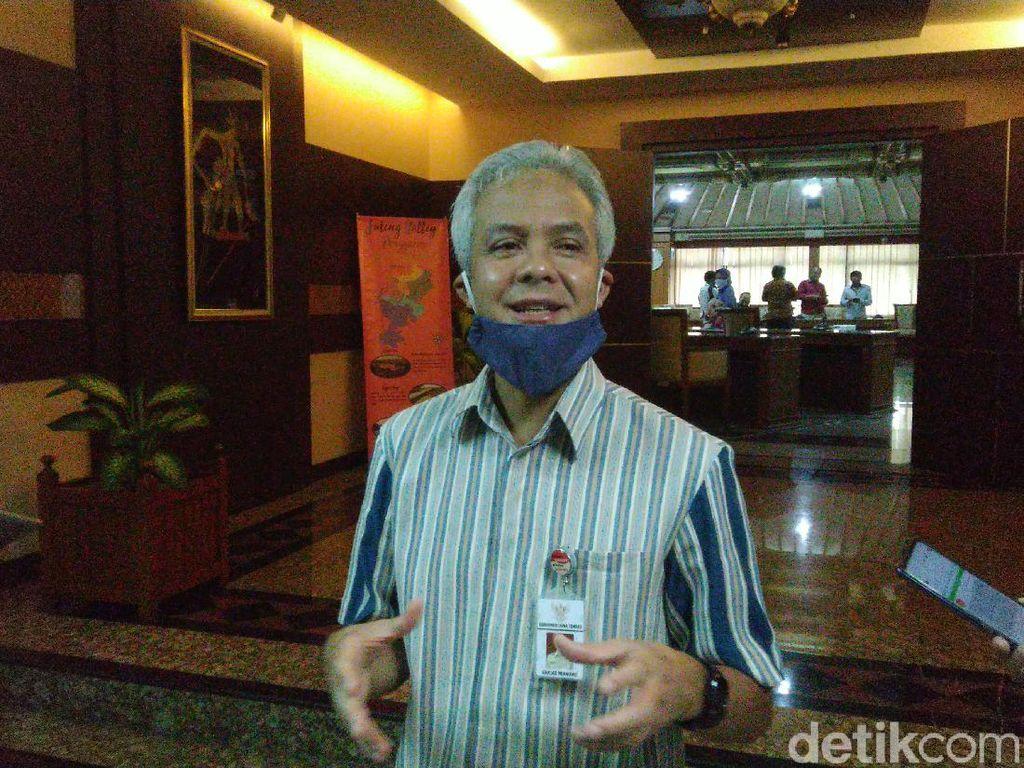 Ganjar Senang Banyumas Dibantu Alat Rapid Test oleh Ridwan Kamil