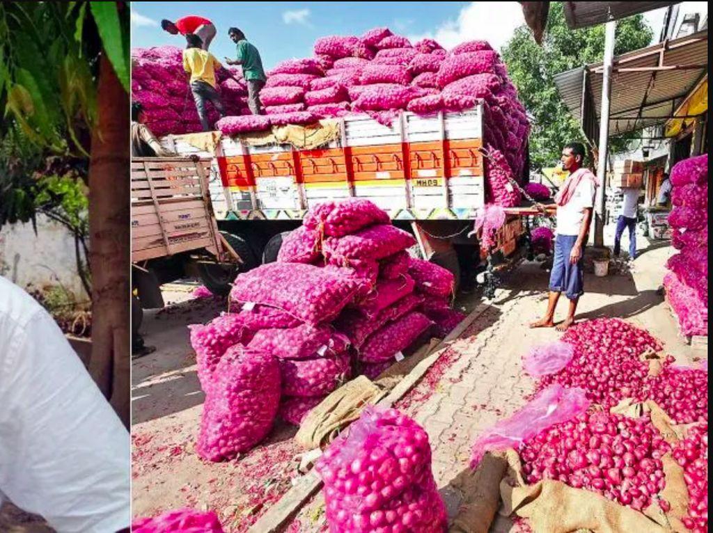 Niat! Demi Bisa Mudik, Pria Ini Beli Puluhan Ribu Kg Bawang dan Nyamar Jadi Pedagang