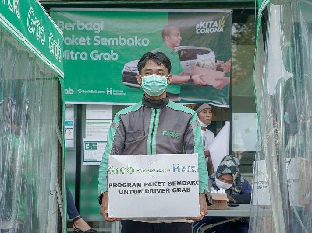 Grab Sumbang Rp 260 M Atasi COVID-19 di RI, buat Apa Aja?