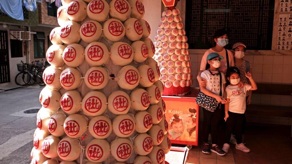 Lesunya Festival Cheung Chau Bun di Hong Kong