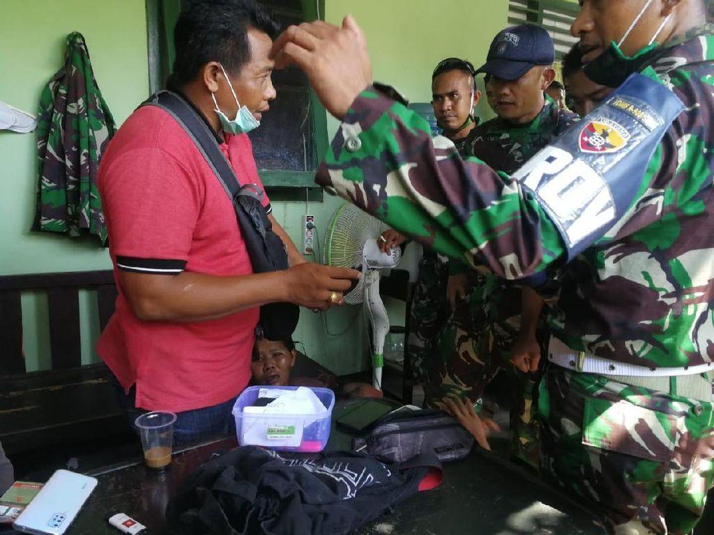 Terciduk! 2 Pria Curi HP hingga Kotak Amal di Asrama TNI Buleleng Bali