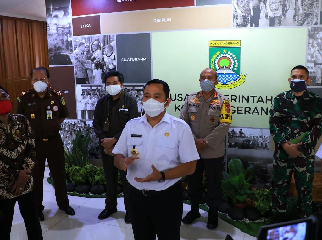Evaluasi PSBB, Pemkot Tangerang Siapkan Skenario New Normal-Razia Sporadis