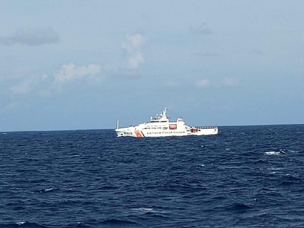 Bareng Malaysia & Vietnam, KKP Cari Kapal Ilegal Fishing yang Tenggelam