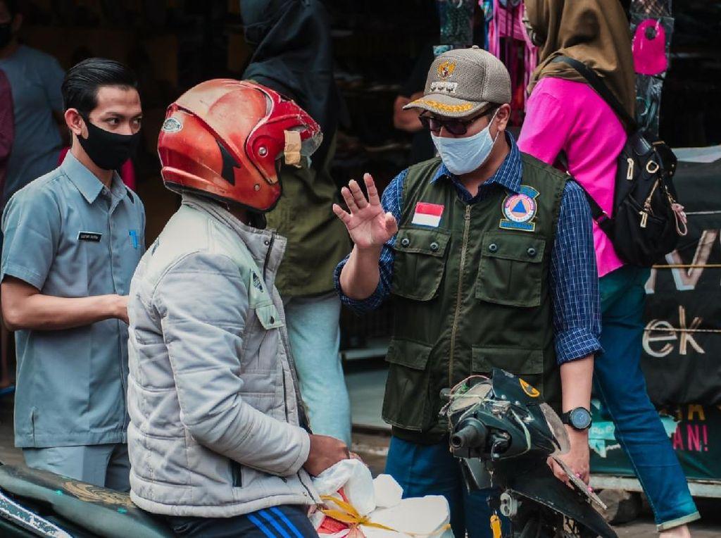 Awal Mei, Masuk Kota Sukabumi Wajib Pakai Masker