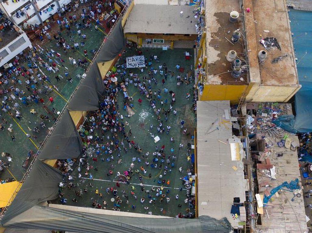 Rusuh di Penjara Ekuador, 62 Narapidana Tewas