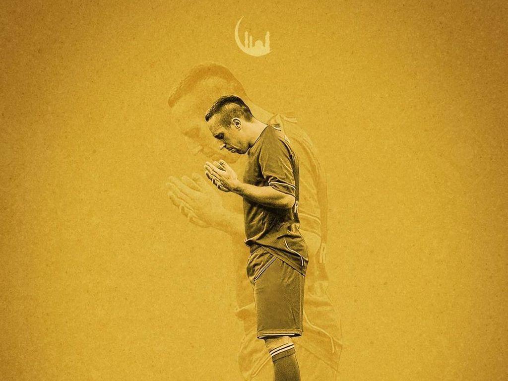 Mahrez Sampai Ribery, Doa Pesepakbola Dunia di Ramadhan Kali Ini
