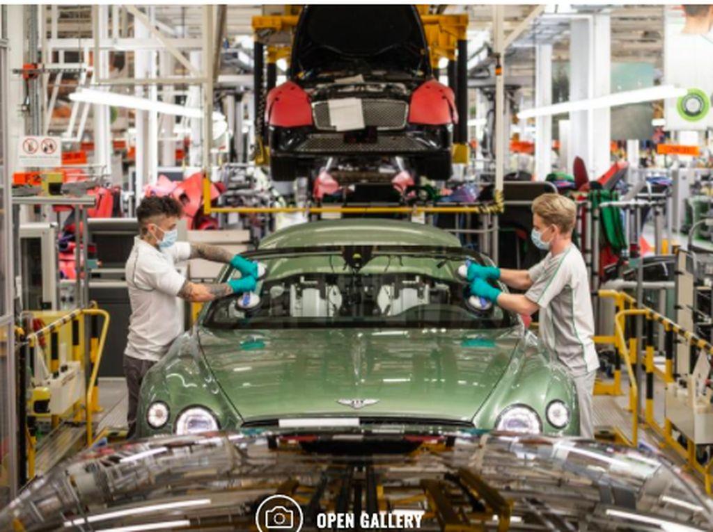 Bentley Mulai Produksi Lagi Bulan Depan