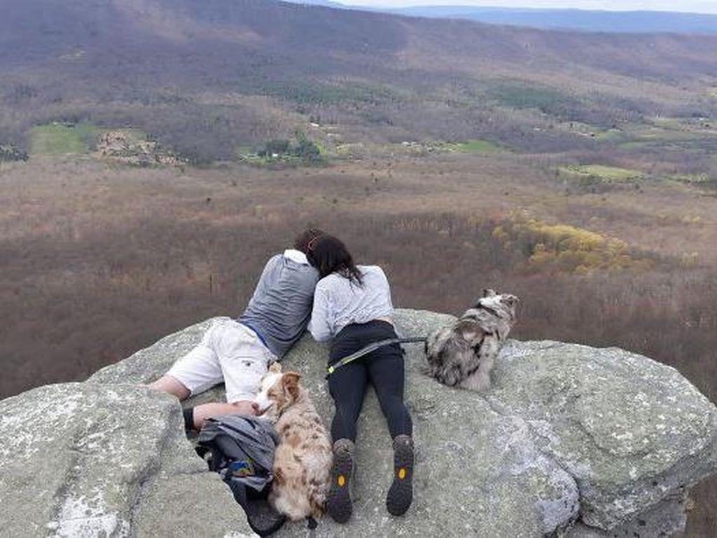 Ada-ada Saja, Pria Ini Lamar Kekasihnya saat Mendaki Gunung
