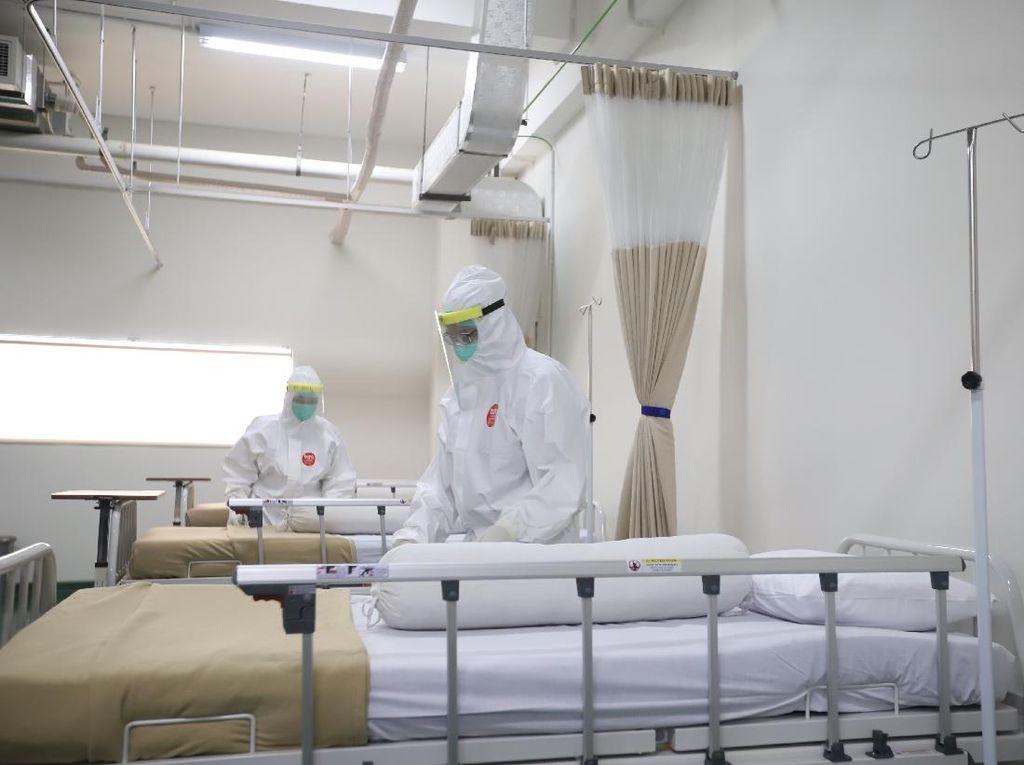PSBB Transisi DKI Diperpanjang: Kapasitas Ruang Isolasi 87%, ICU 79%
