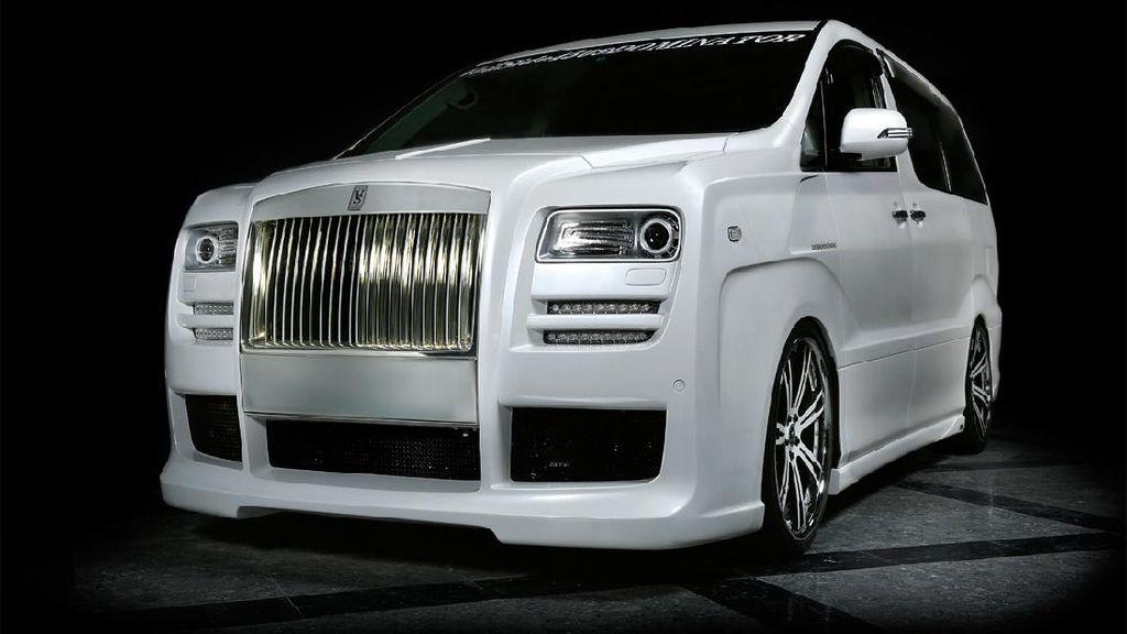 Toyota Alphard ala Rolls-Royce, Ternyata Ganteng Juga!