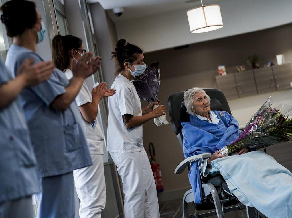 Nenek di Belgia Sembuh dari Virus Corona Usai Rayakan Ultah ke-100