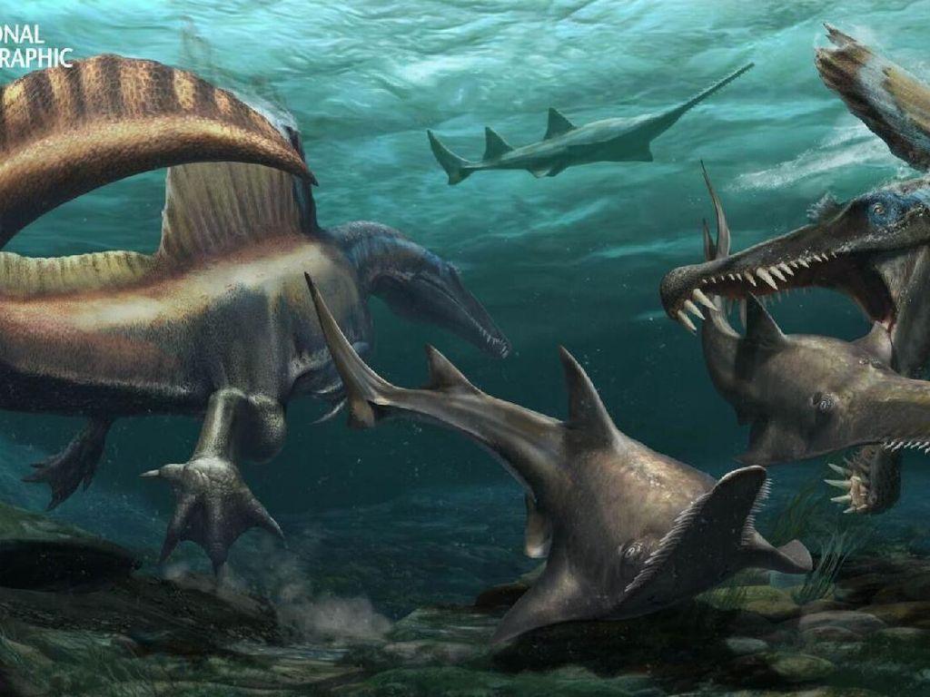 Misteri Apakah Dinosaurus Bisa Berenang Terpecahkan