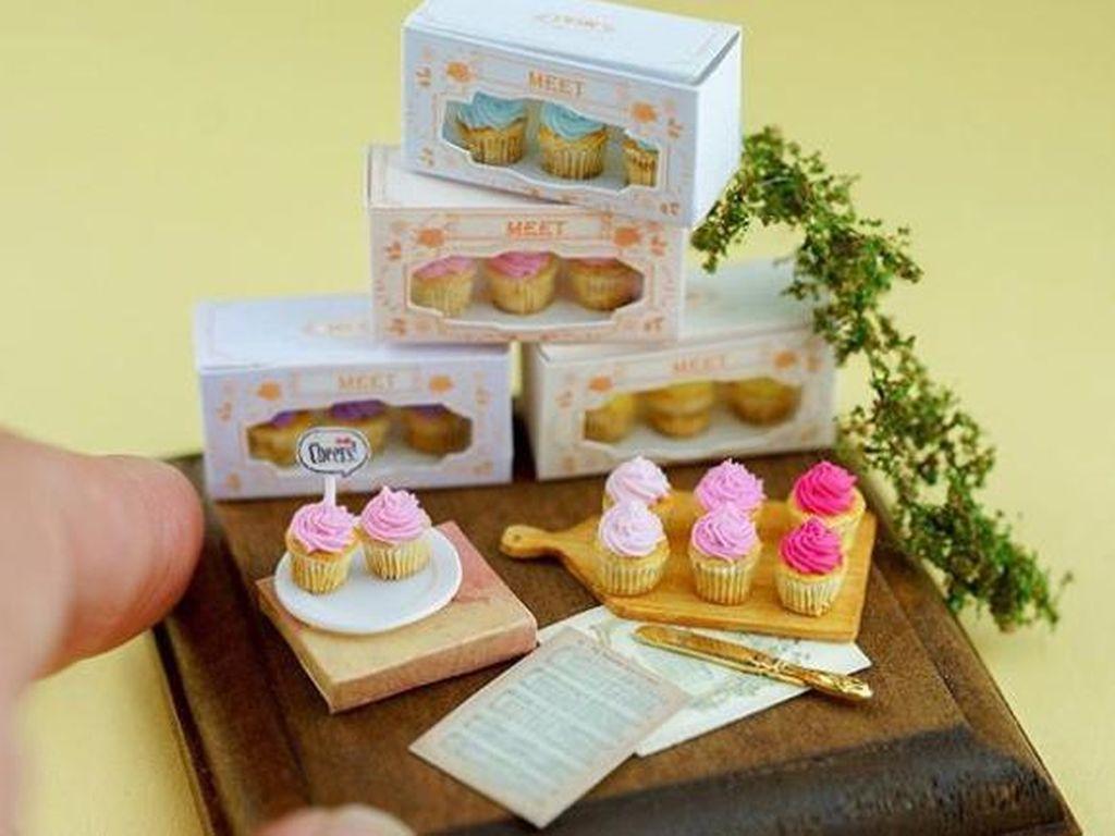 Mungil Banget! Ini 10 Miniatur Cupcake hingga Es Krim yang Menggemaskan