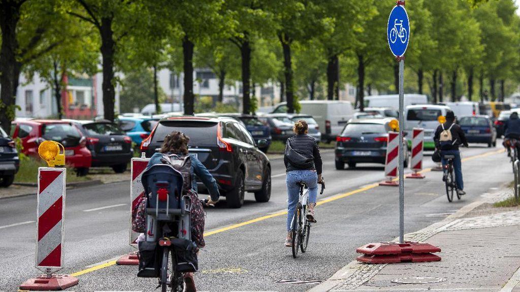 Mantap! Berlin Tambah Jalur Sepeda