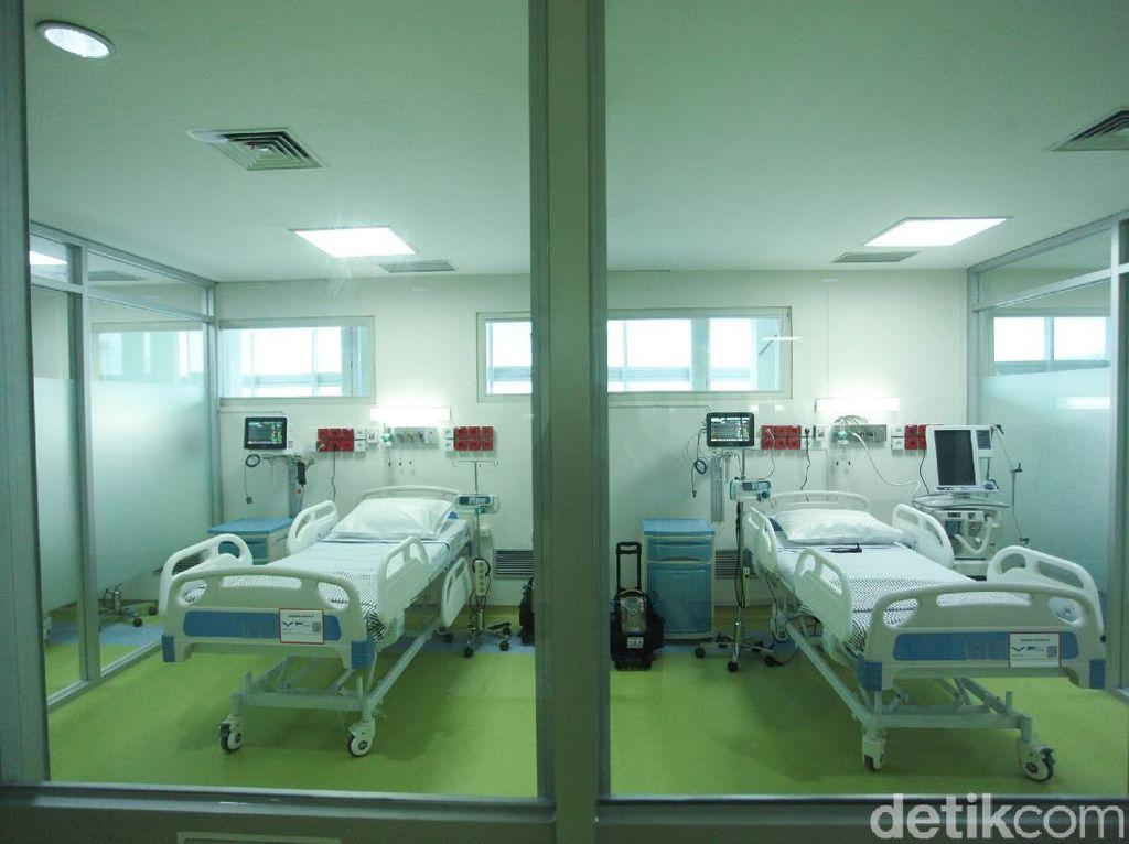 Tempat Tidur Isolasi Pasien Corona di 140 RS DKI Terisi 89%-ICU 94%